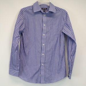 Boys Chalk Stripes Dress Shirt 12/14
